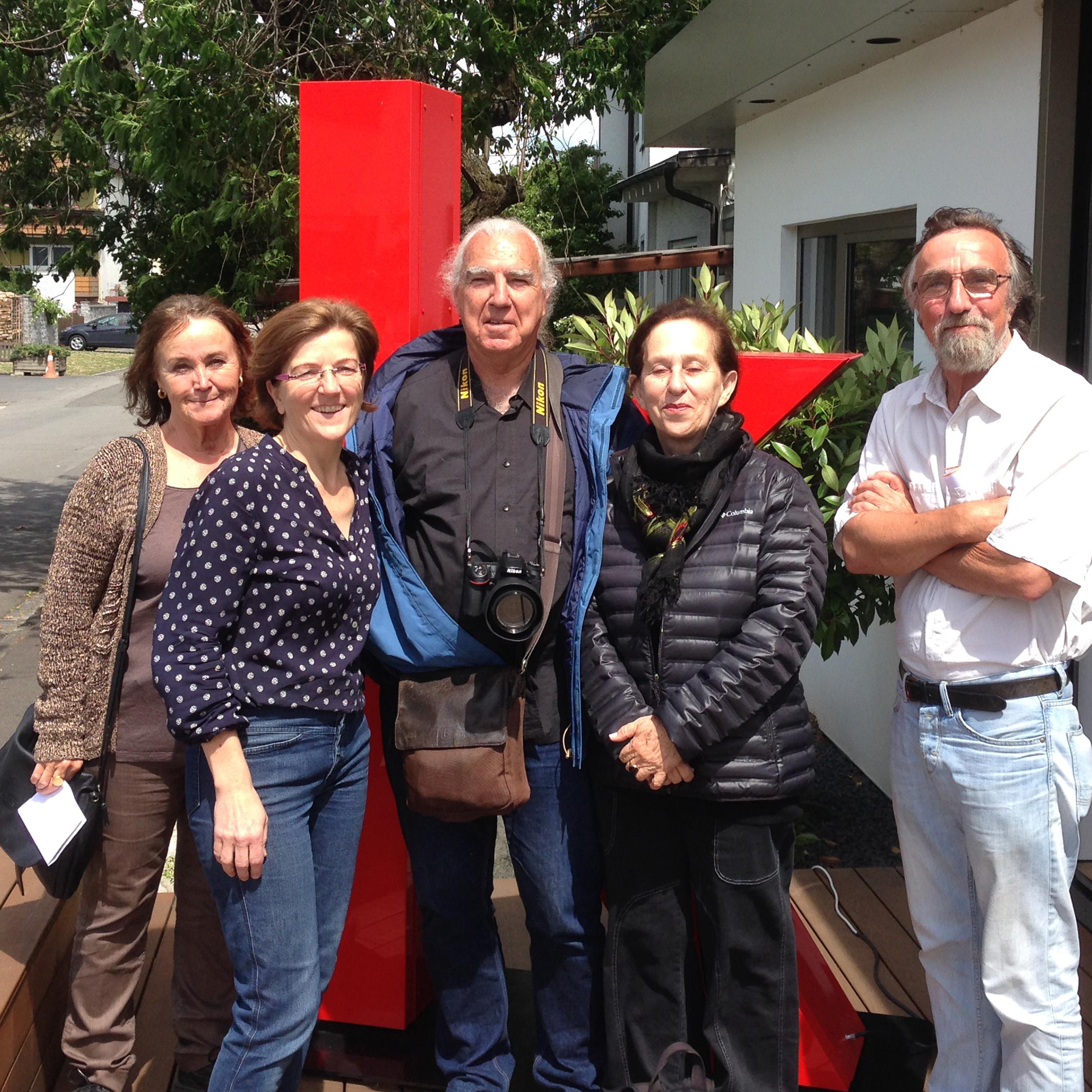 Gruppenfoto mit 5 Personen