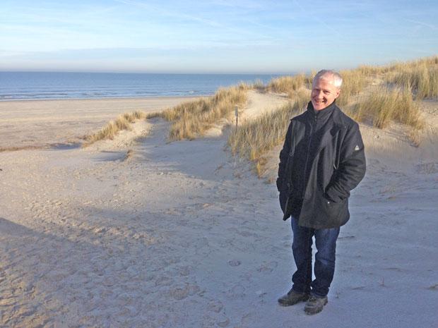 Urban am Strand von Langeoog